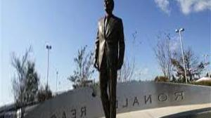 A statue of Ronald Reagan was unveiled in Berlin
